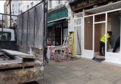 FULL REFURB OF SHOP AND FRONTAGE INCLUDES RESIDENTIAL